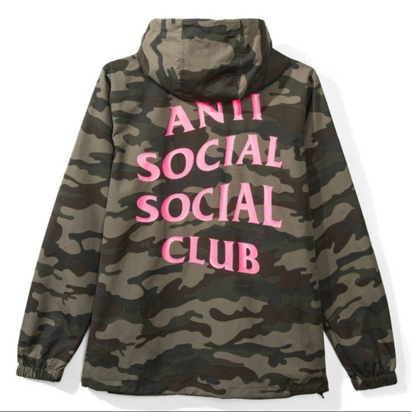 Anti Social Social Club Jackets & Blazers - ANTISOCIAL EZ JACKET!! NEW IN BAG WITH RECEIPTS!!